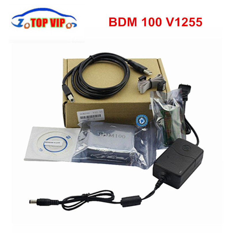 2018 Vente Chaude BDM 100 BDM100 ECU Chip Tournage Outil 100% haute qualité CDM1255 ECU Programmeur Livraison Gratuite
