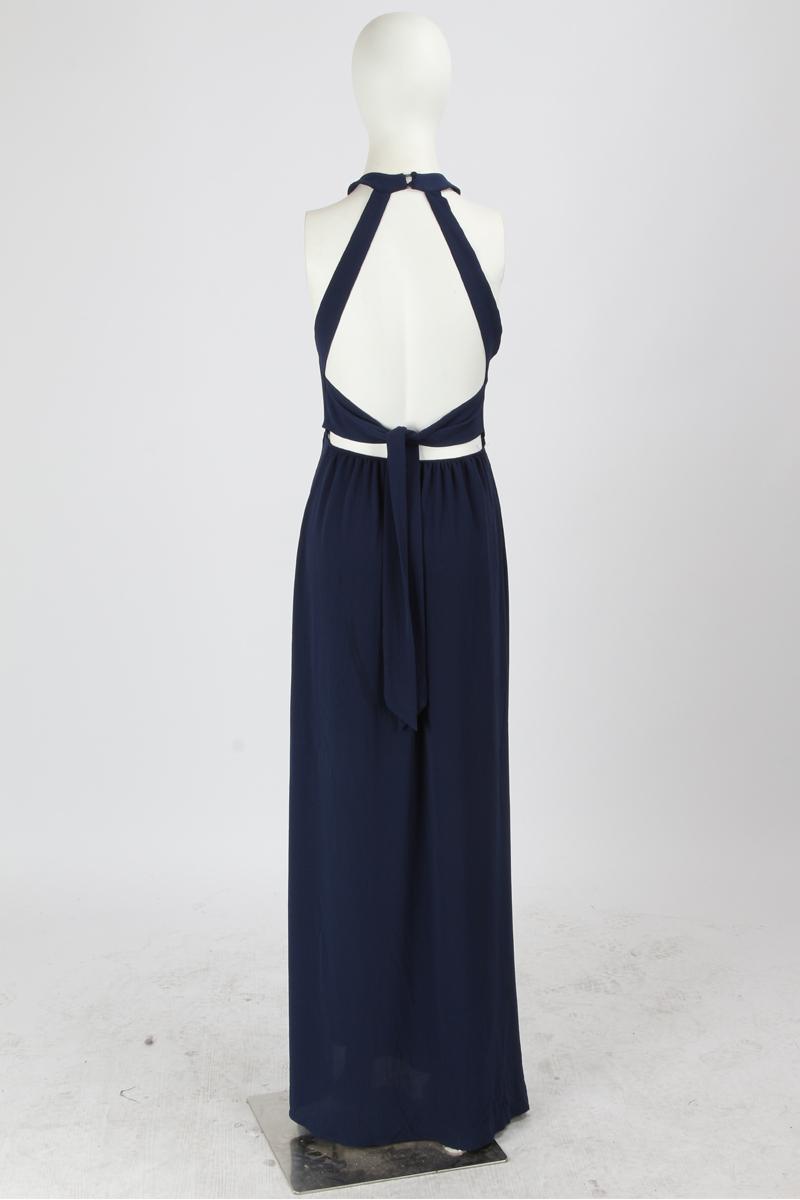 BONGOR LUSS Summer Women Maxi Dress 2017 Halter Sleeveless Front Split Sexy Backless Long Party Dress Embroidery Beach Dress (12)