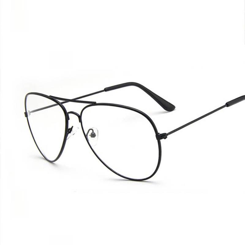 Tienda Online 2017 Marca Oro Marcos de Gafas Gafas Mujeres Hombres Lente  Transparente Vintage Gafas Retro Gafas Masculinas Marco Marco de  Espectáculo Óptico