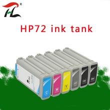 Compatível com HP hp 72 72 72 72 cartuchos de tinta Para HP DesignJet T610 T620 T770 T790 T795 T1100 T1120 T1200 T1300 T2300 Impressora