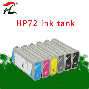 Image 1 - Compatible for HP72 HP72 72 hp72 ink cartridges for HP Designjet T1100 T1120 T1120ps T1100ps 1100 T610T1100 printer