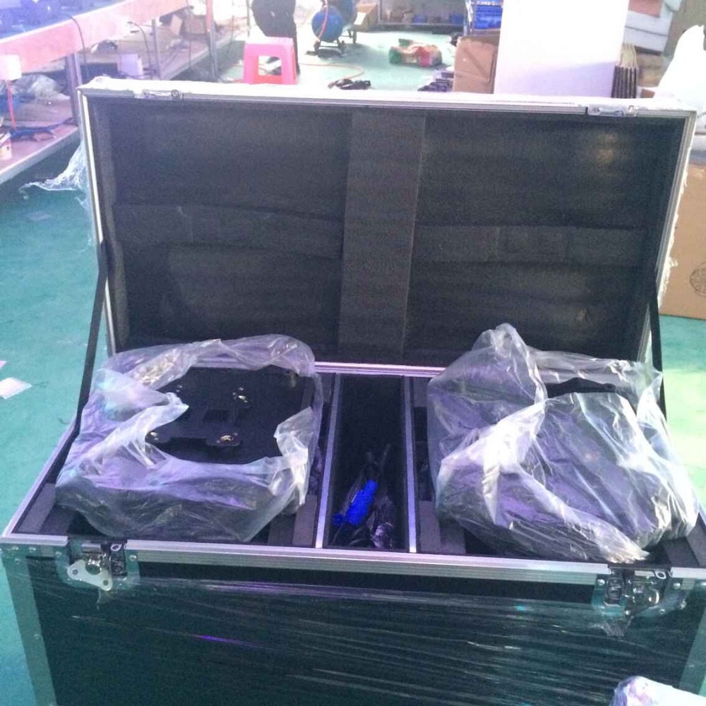 2pcs flight case packing 5R lamp 200w moving head beam light DJ studio  stlighting кейс для диджейского оборудования thon dj cd custom case dock
