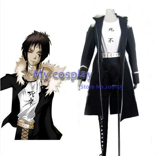 Anime D. gris homme Cosplay-Anime D. gris homme Cosplay Castro cosplay costume livraison gratuite