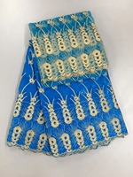 ที่มีคุณภาพสูงแอฟริกันbazin Richeลูกไม้ผ้าสำหรับชุดแต่งงานปักแอฟริกันbazin T Ulleตาข่ายสุทธิลูกปั