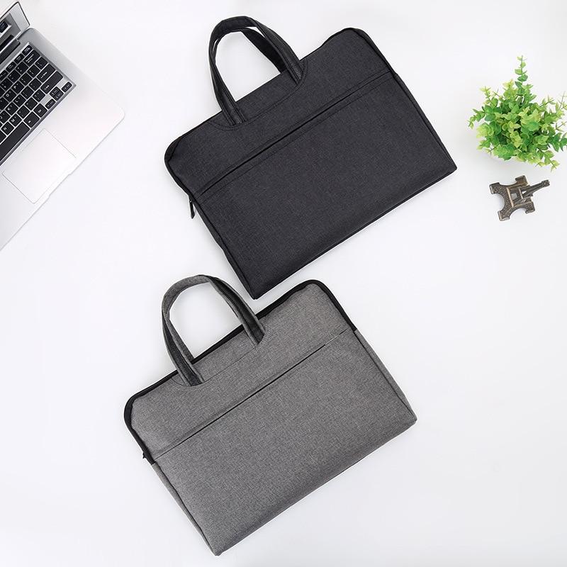 2019 Large Capacity Business Man Briefcase Men Oxford Laptop Handbags Boy Waterproof Notebook File Bags Notebook Bag For Macbook