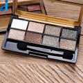 8 Colors Bright Colorful Makeup Eyeshadow Cosmetics Matte Smoky Earth Eye Shadow Set Make Up 2HY17