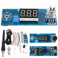 New DIY Electric Unit High Quality Basic Ability PracticalDigital Soldering Iron Station Temperature Controller Kits T12