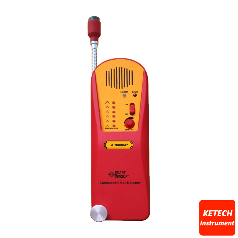 Portable Combustible Gas Detector AR8800APortable Combustible Gas Detector AR8800A