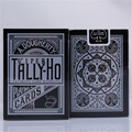 Tally-Ho Viper Deck Bicycle Shadow Playing Card Black Deck By Ellusionist Creative Poker Magic Props Magic Tricks 81246