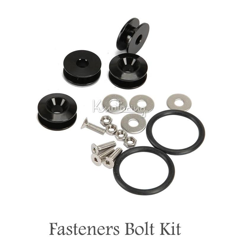 Aluminum fastener stainless steel bolt nut rubber o ring