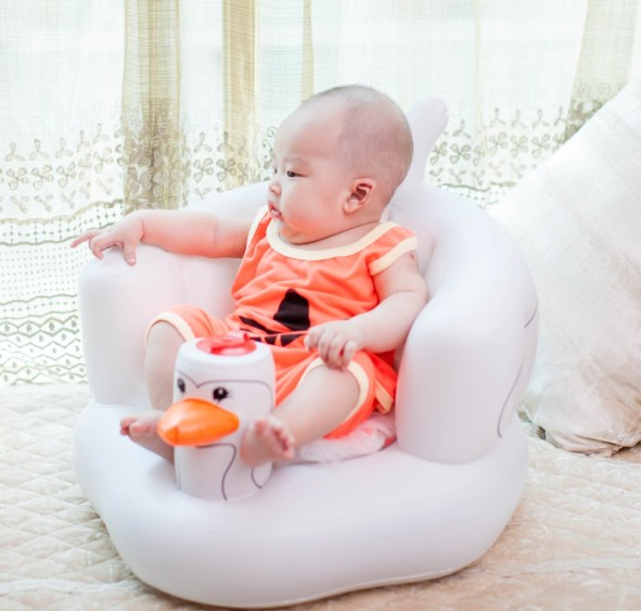0 12month 1 3 Years Old Baby Learn Seat Children Sofa Small Portable Chair Inflatable Kids Child In Chairs From