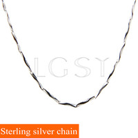 Free Shipping Top Selling 16 18 925 Sterling Silver Wing Chain Necklace Chain In Snap Hook
