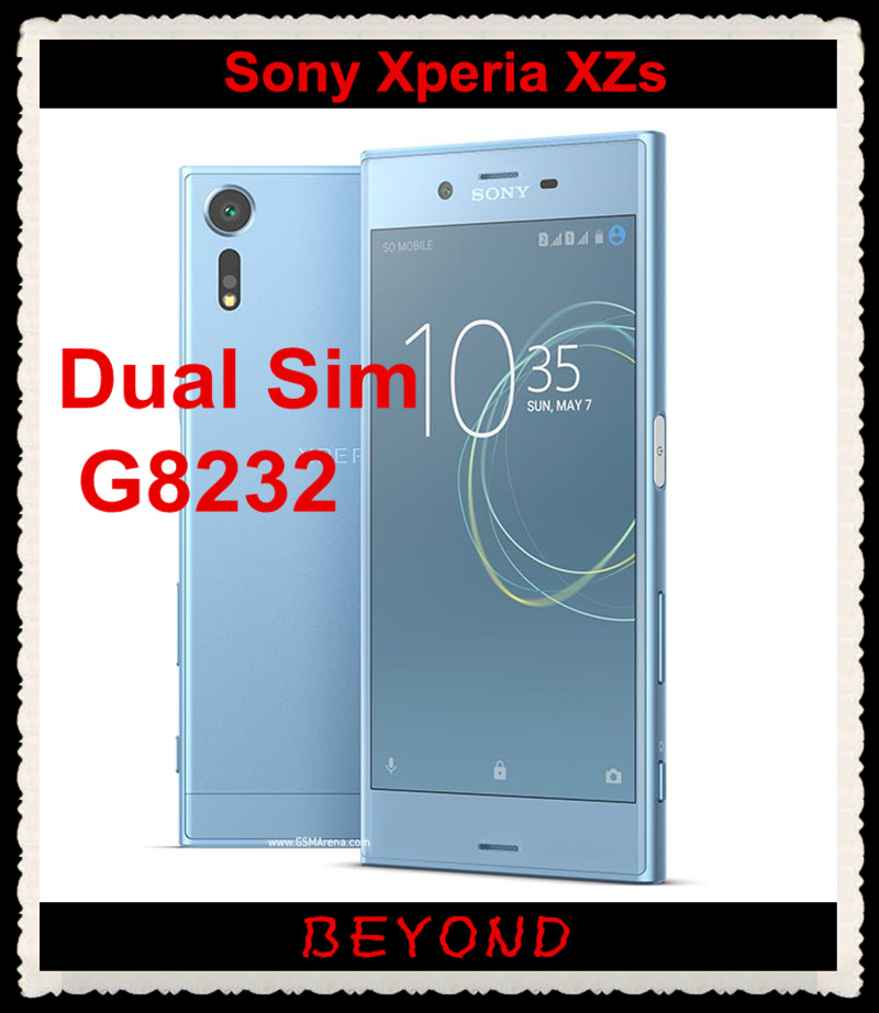 Sony Xperia XZs Dual G8232 Original Unlocked GSM Dual Sim LTE Android Quad Core RAM 4GB ROM 64GB 5.2