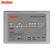 Kingspec 2 5 inch PATA 44pin IDE ssd 16GB MLC Flash memory storage Solid State Disk