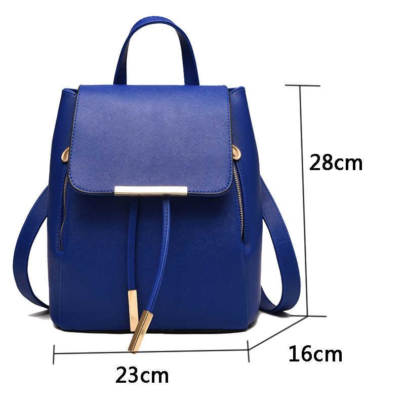 Rusoonnic Mochila Feminina женские рюкзаки из искусственной кожи рюкзак женский Mochila рюкзак женские школьные рюкзаки для девочек 2017