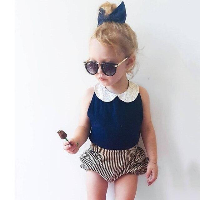 70b2328dd 2PCS Girl Clothing Toddler Kids Baby Girls Clothes Sets 2pcs Summer ...