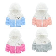 2019 New Baby Boys Girls Sun Protection Clothing Children Summer Thin Hooded Clo