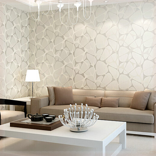 Modern 3D Stone Wallpaper For Living Room Bedroom Yellow Pink White Blue Damask Wall Paper Roll Wallcoverings Papel De Parede Pa In Wallpapers From Home