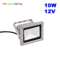 10 W 12 V Su Geçirmez IP65 Led Taşkın işık Kırmızı/Mavi/Yeşil/RGB/Beyaz/Sıcak beyaz/açık led sel ışık yağmur geçirmez yıkama