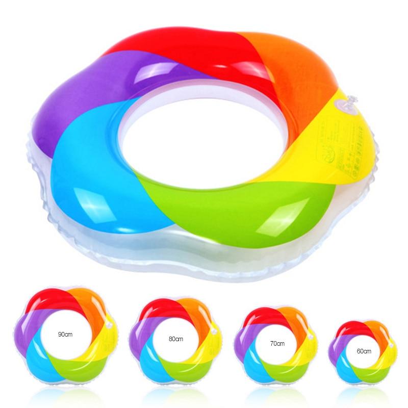 Летом надувной красочные мельница узор Плавание круг для водных видов спорта Плавание ming бассейн Boardwalk Плавание кольцо