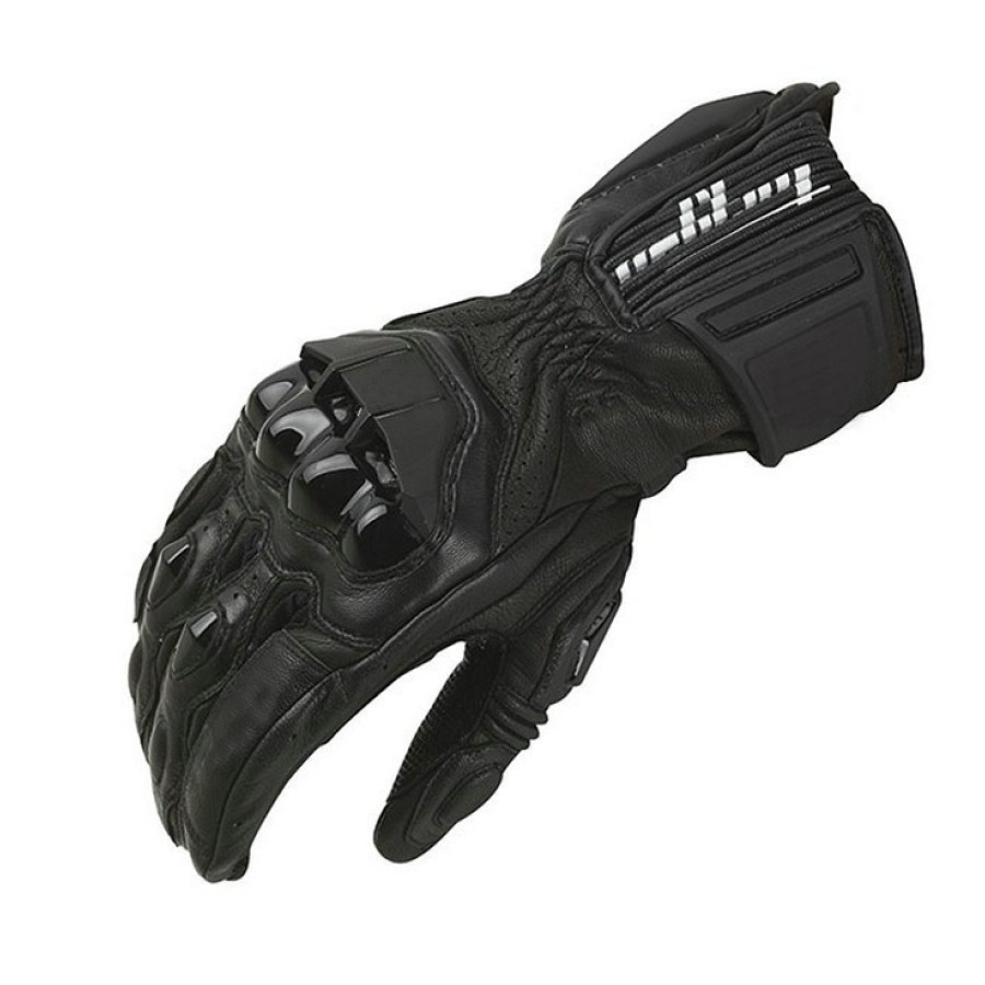 Winter Motorcycle Windproof Gloves Furygan AFS18 Full Finger Racing Gloves Motocross Luvas Genuine Leather Moto Guantes