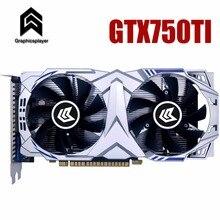 Графическая карта PCI-E GTX750ti GPU 4G DDR5 для nVIDIA Geforce игровой компьютер PC 4096 МБ