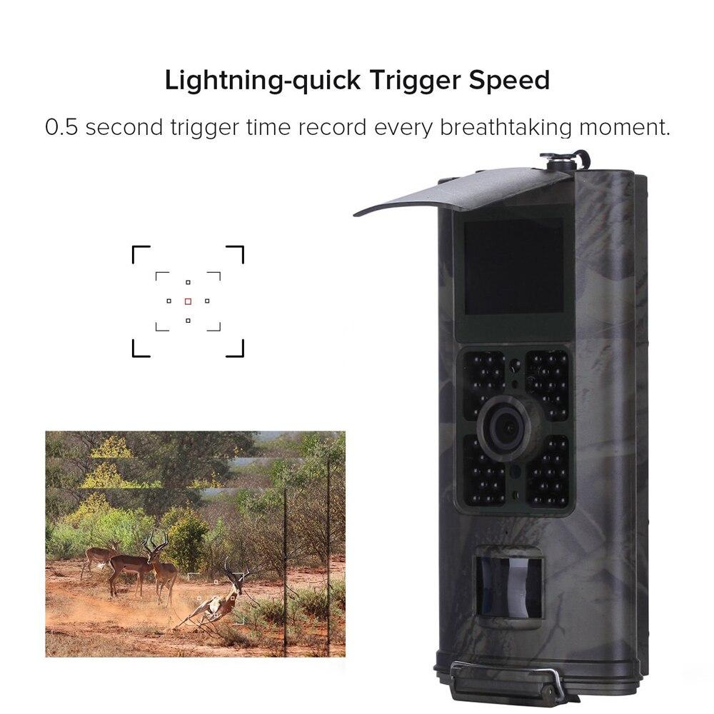 16MP Faune Animale garde scout trail chasse caméra HC700G Numérique Infrarouge Sauvage scoutisme pour photo pièges de chasse caméra HC700