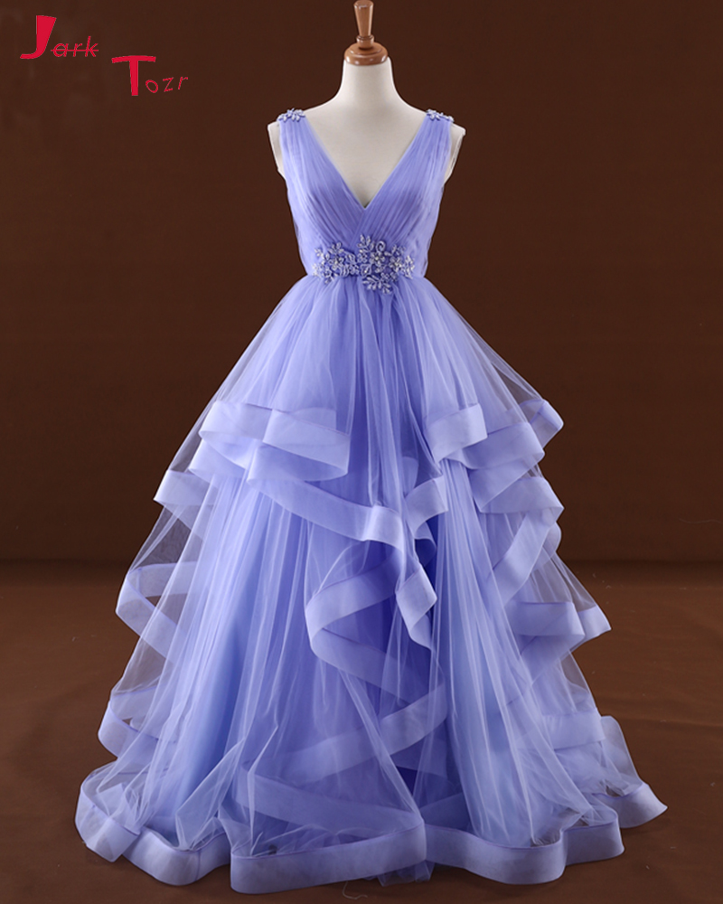 Bonito Vestido De Novia Escote Profundo Festooning - Colección del ...