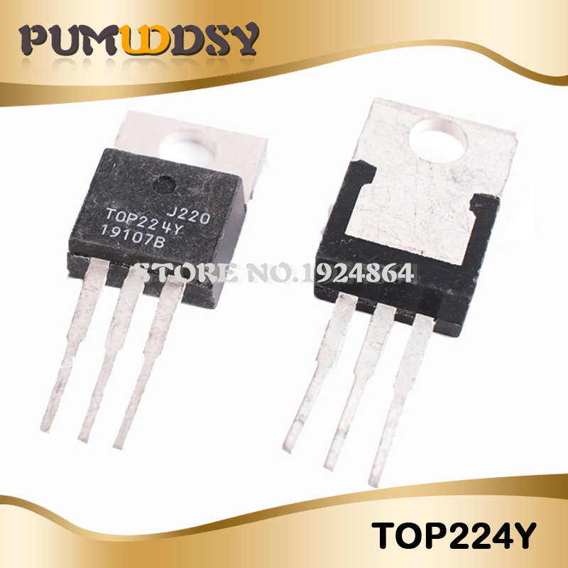 5pcs/Free Postage TO-220 TOP224YN TOP224Y TOP224 IC