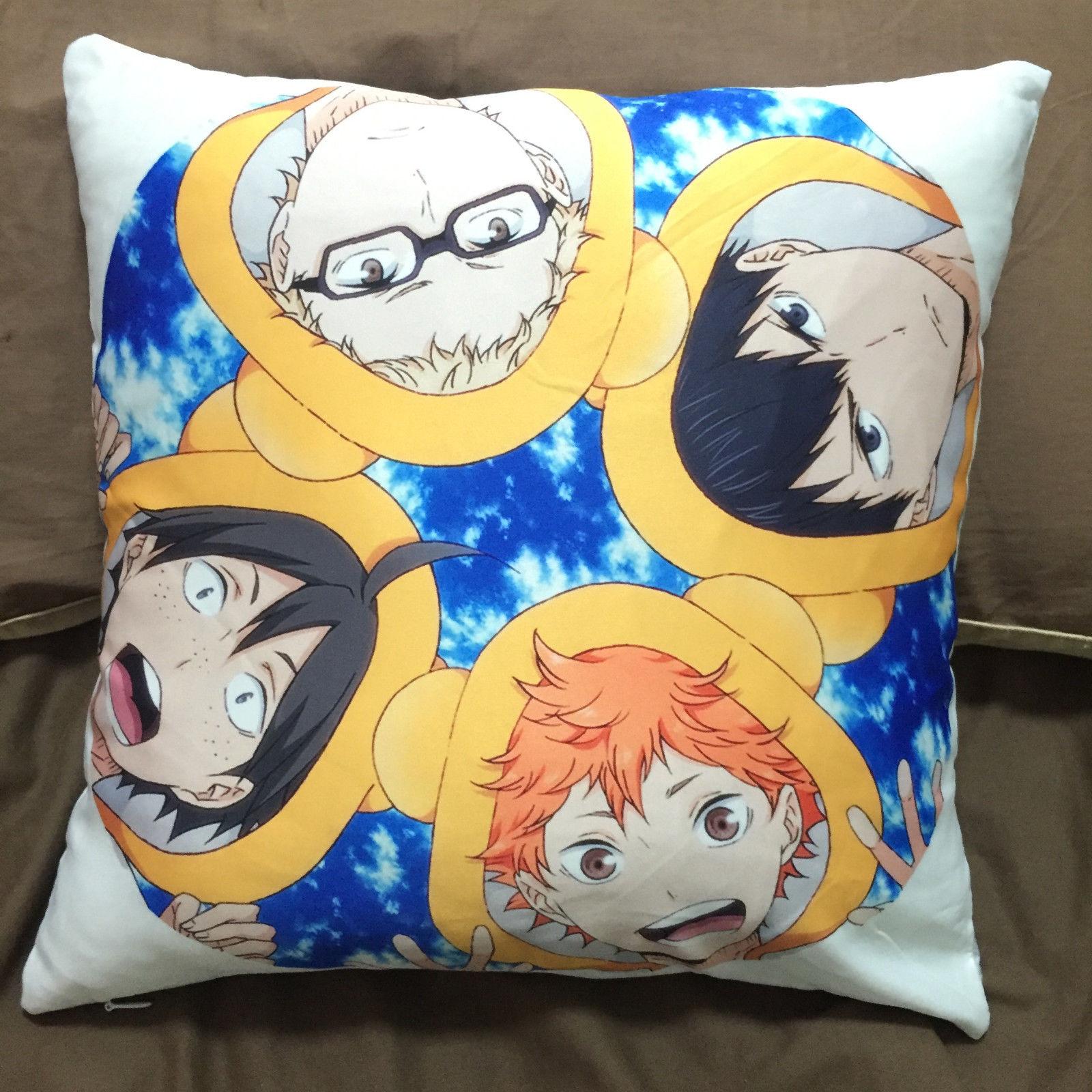 Anime Haikyuu Haikyuu! double sided Pillow cushion Case Cover cosplay 34