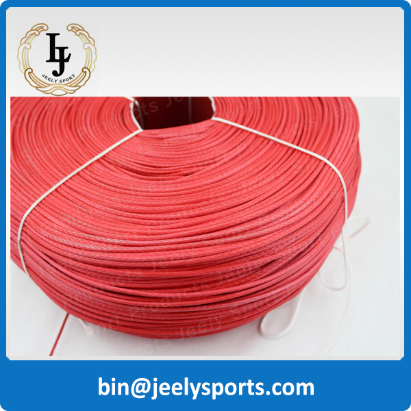 Free Shipping 1000m 900lb uhmwpe extreme braid paraglider winch rope 2.1mm 16 weave