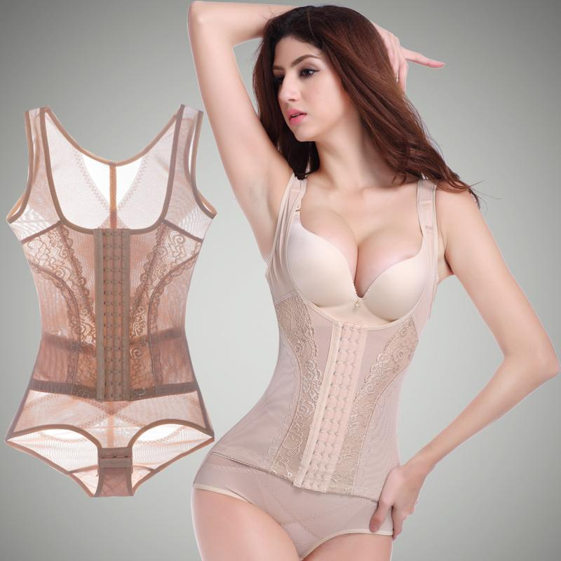 1d114aae4c5c4 Sexy women corrective body shapewear one piece butt lift control corsets  slimming tummy trimmer shapers-in Bodysuits from Underwear   Sleepwears on  ...