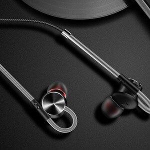 Image 3 - Металлические Магнитные наушники вкладыши FONGE W3, стереонаушники с супер басами и микрофоном для воспроизведения музыки на смартфоне