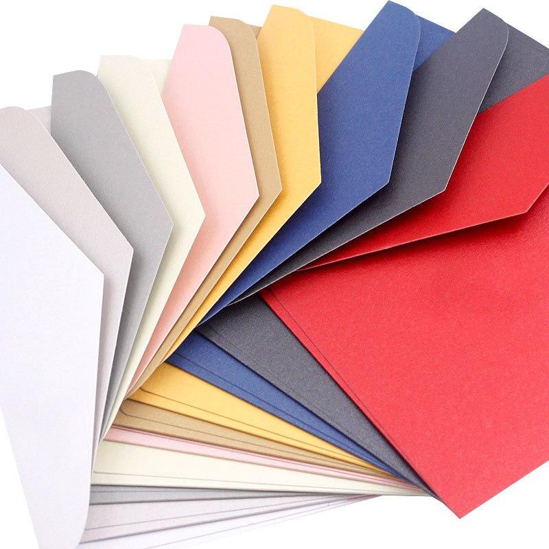 Genial 17,6*12,5 Cm 10 Teile/satz B6 Brief Schreiben Papier Umschläge Für Einladungen Gruß Roten Umschlag Perle Papier Für Business Karten Office & School Supplies Papierumschläge
