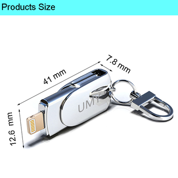 64GB Pen Drive For iPhone USB Flash Drive 32GB Pendrive For iPhone 128GB Flash Drive 16GB For iPhone Stick X 5s 5c 6 6plus 6S 7 1