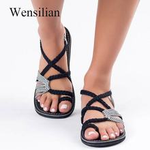 Retro Gladiator Sandals For Women Flat Sandals