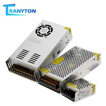 Transformadores de iluminación AC110-220V a DC12V Unidad de Controlador LED para luces de tira LED alta calidad 12V adaptador de fuente de alimentación 1A 2A 5A