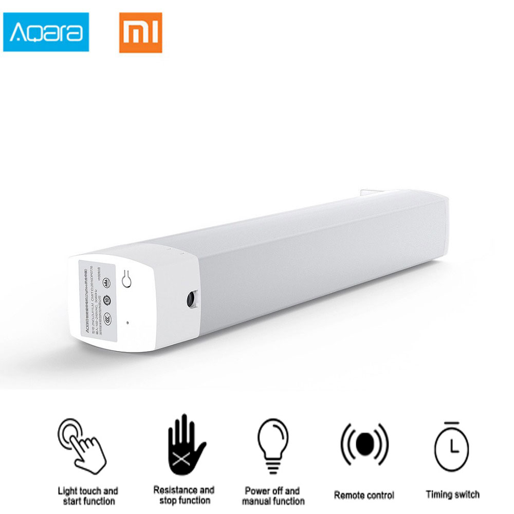 Original Xiaomi Aqara Curtain Motor With Curtain Curtain Controler Zigbee Wifi Work For Xiaomi Smart Home Mi Home APP