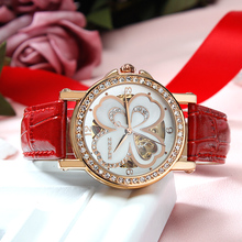 EPOZZ Brand new mechanical watch for women luxury fashion high-grade waterproof watches famous design bracelet clock 80031