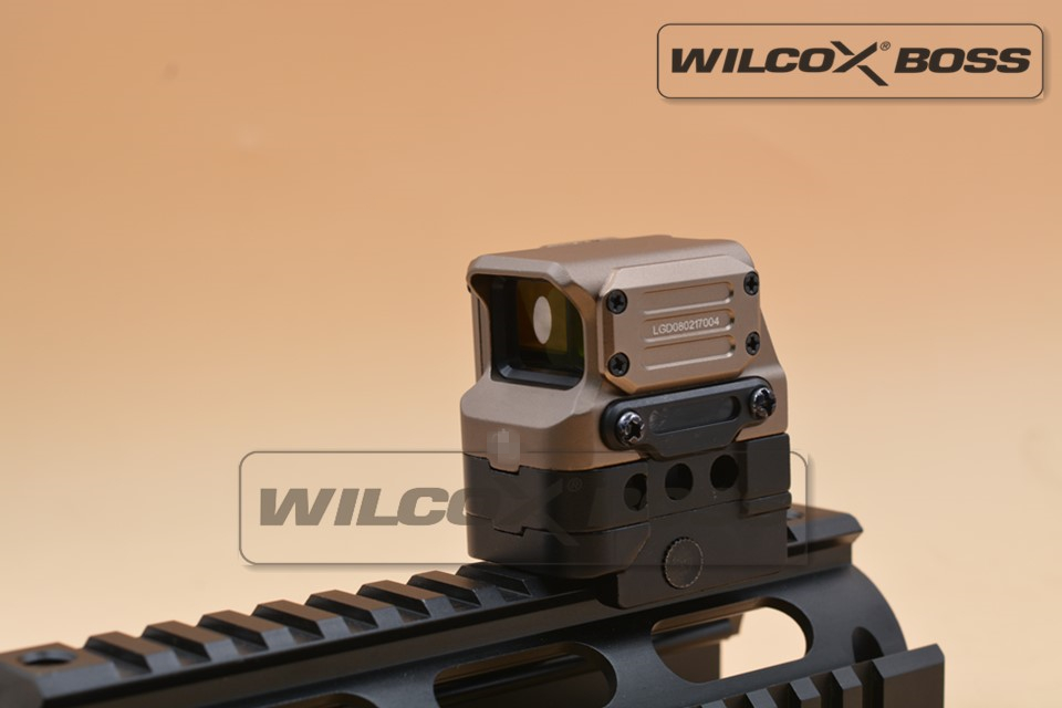 DI Optical FC1 Red Dot Sight Reflex Sight Holographic Sight for 20mm Rail Tan