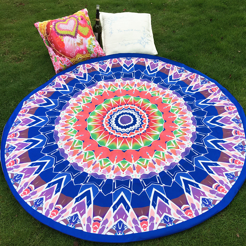 mats magic rose products threads electro mandala mat yoga