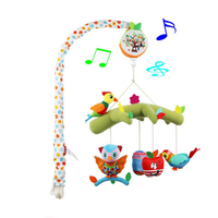 Baby Toy Crib Musical Mobiles Kids Rattle Toy Gift For Newborns 35 Musics