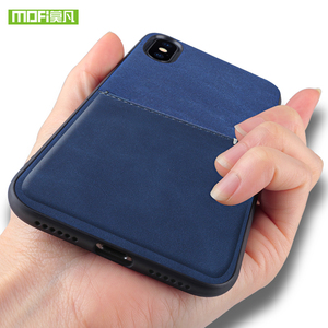 Image 3 - MOFi For iPhone 7 8 X Case For iPhone 7 8 Plus Bag Card Case For iPhone X 10 Case Cover PU Leather Luxury Wallet Card Back Cover