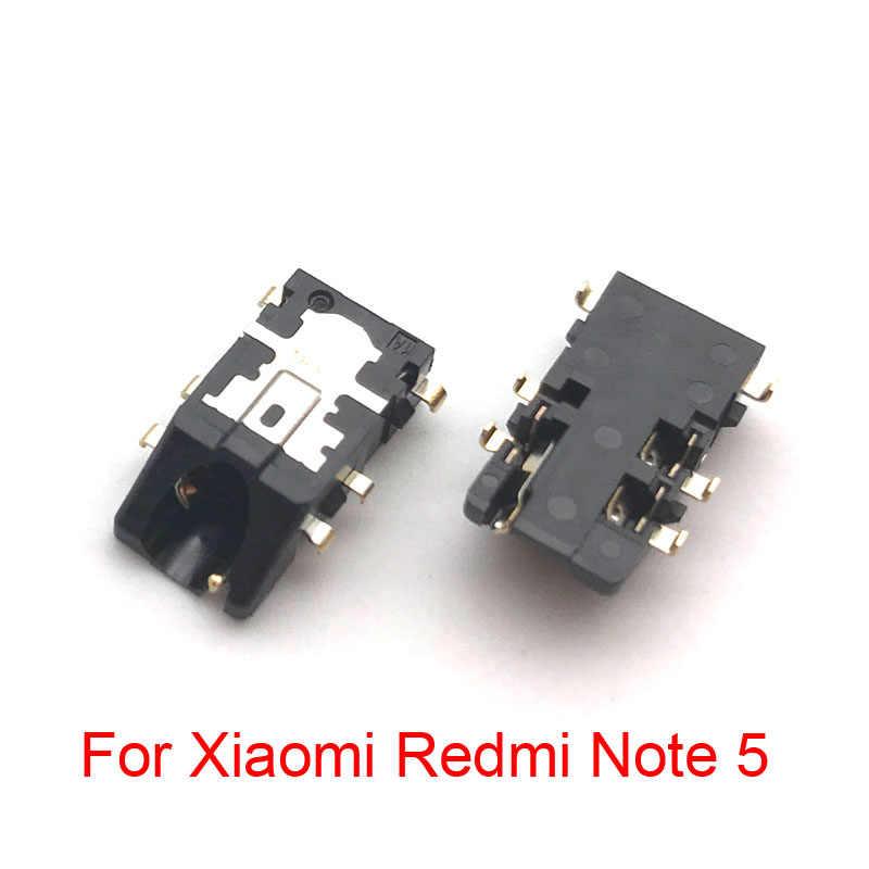 20 шт./партия, для Xiaomi Redmi 4A 5 Plus Note 5 5A 3 3s Note 4 4x наушники аудио разъем Шлейф Запасные части