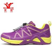 2017 שיאנג גואן אישה נעלי ריצה לנשים לרוץ נחמד מאמני אתלטי נעל ספורט Zapatillas סניקרס טיולים רגליים חיצוני סגול