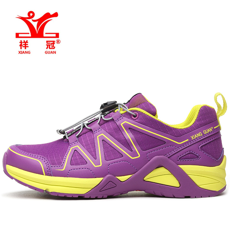 2017XIANG GUAN Woman Running Shoes For Women Run Nice Athletic Trainers Purple Zapatillas Sport Shoe Outdoor Walking Sneakers onemix running shoes women sport sneakers for woman athletic trainers exercise runner lady pink zapatillas deportivas pink color