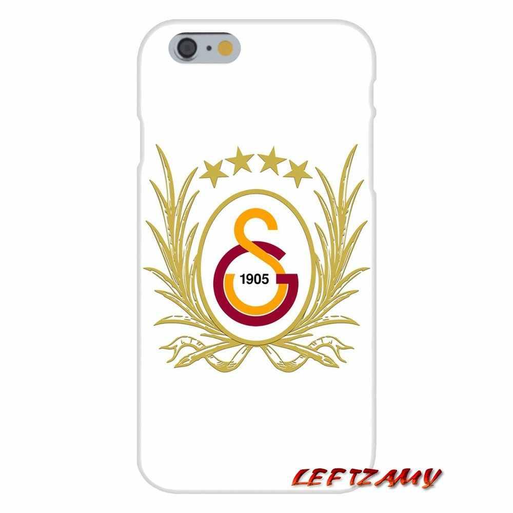 Accessoires Telefoon Gevallen Covers Voor Apple iPhone X XR XS MAX 4 4 S 5 5 S 5C SE 6 6 S 7 8 Plus ipod touch 5 6 Hot Galatasaray SK logo