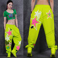 2016 New fashion Women Hip hop pants dance wear sweatpants ds costumes loose casual female  pant stars harem trousers