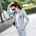 women Casual vest blazer and pants suits 3 piece set spring and autumn fashion slim elegant  set BS9613 plus size m-4xl