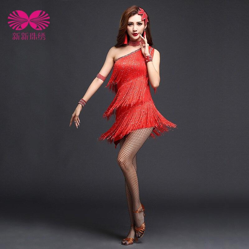 Платье для танцев бахрома